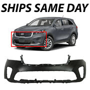 New Primered - Front Bumper Cover Replacement For 2019 2020 Kia Sorento 19 20