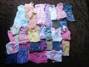 32 Piece Childrens Size 12 Month Spring Summer Girls Child Clothing Lot Outfits