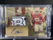 Jonathan Taylor One Of One Super-refractor Gold Vinyl Bowl Patch 1/1 Rc Sick