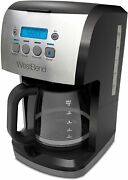 West Bend 56911 Steep And Brew Coffee Maker Features Programmable Auto Shut-off Wi