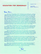 Spiro T. Agnew - Printed Letter Signed In Ink