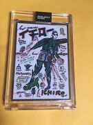 Topps Project 2020 196 Ichiro By Gregory Siff 252 Artist Proof Ap 20 Mariners