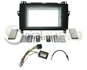 Radio Stereo Dash Kit Combo Standard 2din + Wire Harness + Antenna Mb183