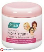 Bl Jergens Face Cream All Purpose 15 Oz Jar - Two Pack