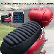 Universal Motorcycle Inflatable Seat Cushion Pillow Shock-absorption Waterproof