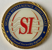 Nsa Nat'l Security Agency Signit Cybersecurity Signals Intelligence Directorate