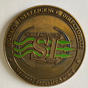 Vhtf Nsa Sigint Signals Intelligence Directorate Unit Coin Battled Carried Cond