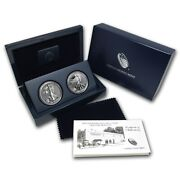2013 Proof American Silver Eagle 2-coin Set In Ogp.