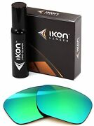 Polarized Ikon Replacement Lenses For Drop Point Oo9367 - Emerald Green