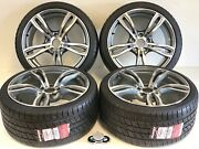 19 Wheels Rims Tires Bmw Fit M4 M3 437m M2 Sport 19 Staggered Fac Style 5x120