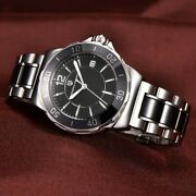 Luxury Business Womenand039s Wrist Watch Stainless Steel Auto Date Japanese Movement