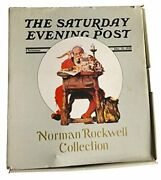 The Saturday Evening Post Norman Rockwell Collection Christmas Santa Clause