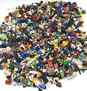 Lego 2.75 Pound Lot Of Minifigure Body Parts And Pieces Accessories Bulk Lbs