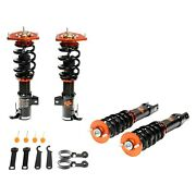 For Bmw M3 08-13 Coilover Kit 0.5-2.5 X 0.5-2.5 Asphalt Rally Front And Rear