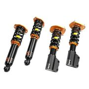 For Mercedes-benz C300 15-18 Coilover Kit 0.5-2.5 X 0.5-2.5 Road Racing