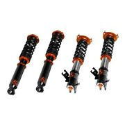 For Lexus Ls400 90-94 Coilover Kit 0.5-2.5 X 0.5-2.5 Asphalt Rally Front And