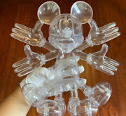 Apportfolio Snow Angel Mickey Sculpture By Resin Pure And Clear H12inch Figures
