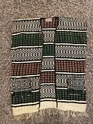 Rare Chaleco Wool Hand Woven Vest Imported From Mexico Size M Medium Multicolor