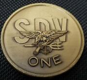 Us Navy Seal Seal Delivery Team One Sdvt-1 Challenge Coin