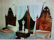 Unique Antique French Twin Bedroom Set, 1800's, Filigree, Hand Made, Elves