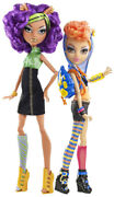 2012 Monster High Wave 3 Clawdeen And Howleen Wolf 2-pack Mint
