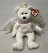 Rare 1998 Retired Ty Halo Beanie Baby Excellent Condition With Errors 4208 Mint