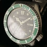 Seiko 3rd Diver Automatic Antique Watch Green 6309-7290 From Japan