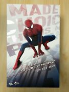 Hot Toys Mms 244 The Amazing Spiderman Spider-man 2 Figure Normal Version Used 2