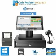 Brand New Point Of Sale System Grocery Store Pos Pcamerica Cre I5/16gb/ssd