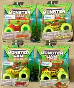 Spin Master 2020 Monster Jam Zombie Invasion 20125474 164 Scale Set Of 4