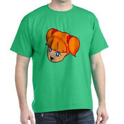 Crew Neck Anime Print Cute Anime Graphic T-shirts Tees For Men Lrg Navy Green