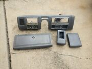 Oem Vintage 1975-1976 Lincoln Town Car Dash Panel Set In Gray