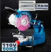 Us Ca 110v 230w Electric Chainsaw Chain Sharpener Grinder With 2 Grinding Wheels