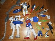 Lot Of 27 Gundam Figures/andpieces White Wing Tallgese Iii Action Figure Rare