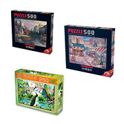 Art Puzzles For Family Activities, Jigsaw Puzzles For Kids And Family Time, A...