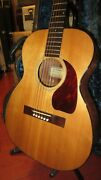 Vintage 1945 Epiphone Ft-30 Natural Small Bodied Acoustic Flattop Guitar W/ Ohsc