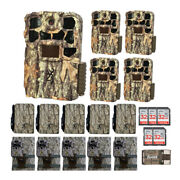 Browning Trail Cameras Recon Force 4k Edge Trail Camera Essentials Bundle 5 Pack
