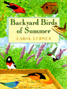 Backyard Birds Of Summer The Perfect Introduction To Birding By Carol Lerner