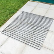 Galvanised Steel Foot Grate [1m X 1m] | Heavy Duty Foot Grid Andndash Sports Pitches