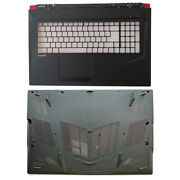New For Msi Gl73 Gp73 Gp73m Ms-17p1 Upper Case Palmrest And Bottom Case Cover