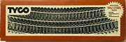 Vintage Tyco Ho Scale Electric Trainand039s Tru-steel Track Curve And Rerailer Boxed