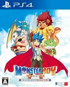 Ps4 [monster Boy And The Cursed Kingdom] Sony Playstation4 Japan W/tracking New