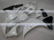 Fairing Pearl White Black Injection Plastic Fit For Yamaha 2012-2014 Yzf R1 Z05
