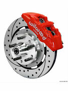 Wilwood Disc Brake Kit Dynapro 6 Front Slotted/drilled Rotor 6-p..140-12947-dr