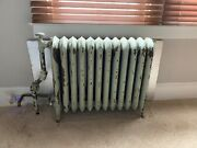 Vintage Cast Iron Radiator Cover Also For Sale Separately