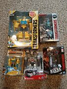 Hasbro Transformers Cyberverse Action Attackers Ultimate Bumblebee 8 Pc Lot