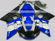 Fairing Black Blue White Abs Injection Mold Fit For Yamaha 1998-2002 Yzf R6 Z47