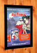 Inuyasha The Movie The Castle Beyond The Looking Glass Mini Poster Ad Framed