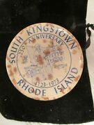 Vintage South Kingstown Sovenir Pin1923-1973 Collectible