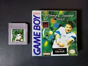 Jimmy Connors Tennis Nintendo Game Boy 1989 In Box- Rare
